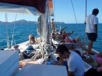 Sonne aufm Boot