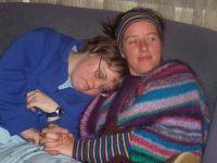 Leighanne (l.) und Laura