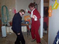 Declans (r.) 60s-party, Emmet (l.)