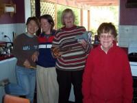 SungMi, Laura, Diana, Julie (v.l.)