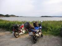 Unsere beiden Bikes