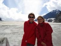Bibber auf dem Gletscher